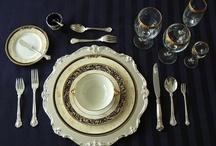 Table settings / by Idées en or