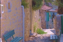 Agnantia-old Kefalonian houses around  / walk around the alleys and discover the beauty of Kefalonian villages...