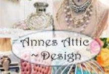 Anne's Attic - Design Romantic Farmhouse Style / Welcome to my Romantic Farmhouse