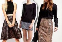 Sylwester kreacje, sukienki / New Year's Eve dresses