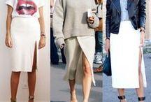 Spódnice ołówkowe / Pencil skirt - FashYou
