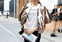 Metallic / Metalicze ubrania i dodatki - FashYou