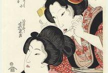 Ukiyo-e:渓斎英泉-Eisen / 寛政3年(1791年)- 嘉永元年7月22日(1848年8月20 日)江戸時代後期に活躍した日本の浮世絵師