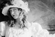 Silent Movie Stars and Historical Women's Fashion