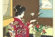 Art:笠松紫浪-Kasamatsu Shiro / 明治31年(1898年)1月11日 - 平成3年(1991年)6月14日 大正時代から昭和時代にかけての浮世絵師/版画家