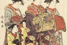Ukiyo-e:鳥居清長-Kiyonaga