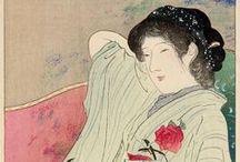 Art:鏑木清方 - Kaburaki Kiyokata / 1878年(明治11年)8月31日 - 1972年(昭和47年)3月2日 明治~昭和期の浮世絵師、日本画家