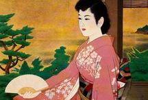 Art:伊東深水 - Ito Shinsui / 1898年 (明治31年) 2月4日 - 1972年 (昭和47年) 5月8日 大正・昭和期の浮世絵師/日本画家/版画家