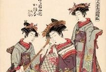 Ukiyo-e:礒田湖龍斎-Koryusai / 享保20年(1735年) - 寛政2年(1790年?) 江戸時代中期の浮世絵師