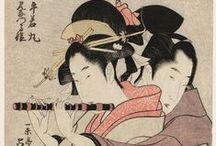 Ukiyo-e:L'intimità