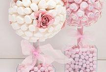 Marshmallow Topiary Tree Ideas