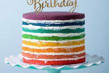 Rainbow Cakes Ideas