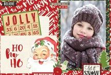 Christmas Scrapbook Layouts, Cards and Projects / Everything Christmas to get your scrapbooking juices flowing!