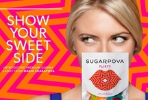 Sugarpova / Sugarpova is a premium candy line that reflects the fun, fashionable, sweet side of international tennis sensation Maria Sharapova. Maria has created her own candy business to offer an accessible bit of luxury, interpreting classic candies in her own signature style. A long time candy lover with a surprising sweet tooth, Maria is bringing a new level of quality to the candy category through fun, unexpected types and shapes – with playful names to match. Wrapped up in a beautiful package.