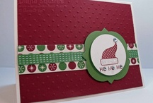 Stamp & Embellish Holiday Cards / Send your friends and family handmade holiday cheer