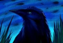 Crows & Ravens in Art