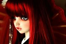 Red-Haired Dolls