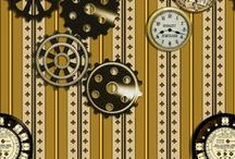 Fabric - Steampunk / Any Steampunk Fabric. If it can go onto a Colour board as well, then go ahead and pin it there. Steampunk fabric is hard to find so pin them!!! :-) Thanks. Please feel free to invite others to join in on pinning to the board!