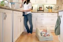 Mom Life Hacks / DIY & Crafts that make mommy life a breeze!