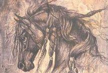 حصان /-\