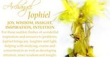 Archangel Jophiel Inspiration / I love the colours that represent this Archangel, which for me are all shades of yellow. By having beautiful things in these colours, it brings in the energy of Jophiel, which brings us great JOY, insight, concentration and inspiration.