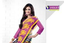 Nandani - Casual Wear Sarees / Printed Casual Wear Sarees from Violet Fashions