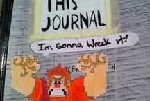 Wreck This Journal Ideas!