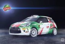 Chodura Racing - P. Chodura - K. Žáček (Citroen DS3 R3) / Design and wrap.