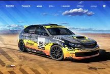 Tomaso Rally Team - T. Solnický - R. Vambuts (Subaru Impreza) / Design for Rally America 2015.