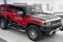 Ultimate Dakar Racing Crew / New team design for Ultimate Dakar Racing Crew including wrap of two Hummers - racing car and showcar, driven by Tomáš Ouředníček and Pavel Vaculík