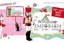 Windsor Christmas Gift Fair 2015 / The Windsor Emporium will be featuring at this event, held at the Royal Windsor Race Course 20th - 22nd November. Here are some of our wonderful exhibitors!