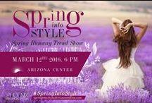 Phoenix Fashion Week / Phoenix Fashion Week the premier southwestern fashion week. Spring Into Fashion and ruwnay.