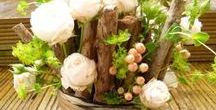 Nature and Rustic Theme / Ideas for nature or rustic theme weddings