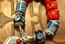 création bijoux / idées de réalisation bijoux  / by danielle LECLAIRE