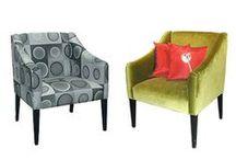 Vendéglátóipari bútorok / Sorolható éttermi kárpítozott padok, kávéházi fotelek , karosszékek