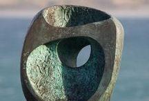 Sculpture abstraite / Sculpture non figurative / by danielle LECLAIRE
