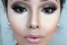 My style: Make-up / This is my style when it comes to make-up and favorite looks. <3 Enjoy