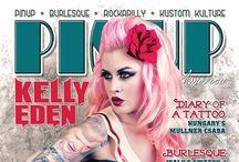 Kelly Eden / Tattooist, Artist, model