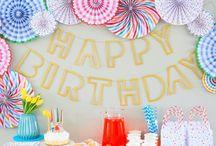 Детские праздники | Kid Party Ideas / Идеи для оформления детских праздников