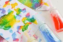 Детское творчество | Arts & Crafts for Kids / Идеи для творчества с детьми: рисование, лепка, аппликации, поделки