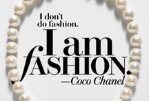 Passion for fashion: quotes