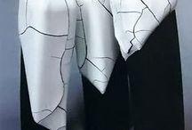 ceramic black and white / céramique / by danielle LECLAIRE