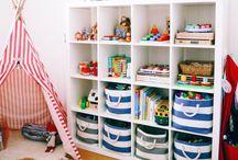 Идеи для детской комнаты | Kid Spaces / Интерьер детской комнаты, декор, организация хранения игрушек и книг