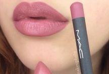 lips / beautiful lipstick colours