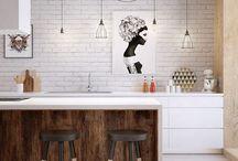 Kitchen and lighting