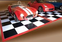 Parking Mats / Park your car, trucks, golf carts, motor cycles, atv's and more in style on a swanky printed parking mat!