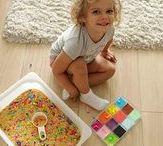 Сенсорные игры для детей / Сенсорные игры, коробки для малышей и дошкольников