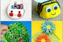 Поделки c детьми | Crafts / Идеи для детских поделок