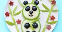 Готовим детям | Food for kids / Идеи, рецепты полезных завтраков, снеков и другой еды для детей.