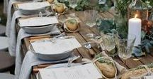 Styled Shoot - Event Table Setting